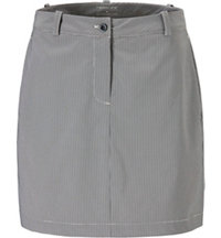 Women's Mini Check Woven Skort