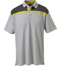 Men's Color Block Short Sleeve Polo