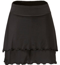 Women's Layered Knit Skort