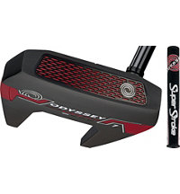 Works Red Mallet Putter with SuperStroke Grip
