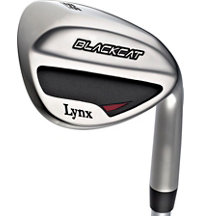 Blemished Black Cat Wedge - Chrome