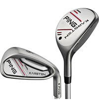 Blemished Karsten 3H-4H, 5-PW Combo Iron Set with Graphite Shafts - Black Dot
