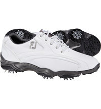 Men's Superlites Sport Speed Spiked Golf Shoes - White (FJ# 58006)