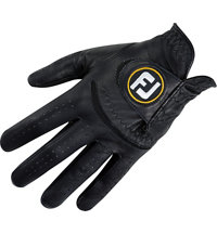Men's StaSof Black Golf Glove