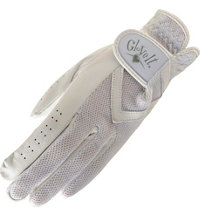 Women's Golf Glove (Solid White)