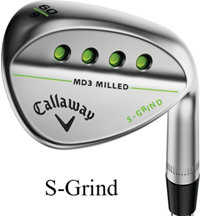 Mack Daddy 3 Milled Chrome Wedge