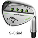 Callaway Mack Daddy 3 Milled Chrome Wedge