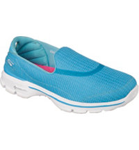 Women's GoWalk 3 Spikeless Golf Shoes - Turq (#13980)