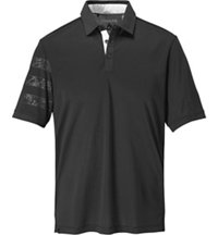Men's Camo Competition Short Sleeve Polo