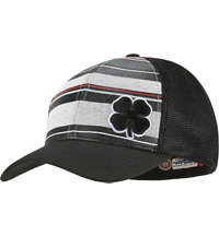 Men's Black Clover Striped Luck Cap