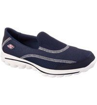 Women's Go Walk 2 Putt Spikeless Golf Shoes - Navy (#13639)