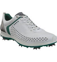 Men's Biom G2 Spiked Golf Shoes - White/Green