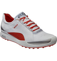 Women's Biom Hybrid Spikless Golf Shoes - White/Fire (#10052358247)