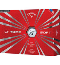 Chrome Soft White Golf Balls