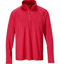 Men's Seasonal Solid Quarter-Zip Pullover