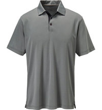 Men's Jacquard Check Short Sleeve Polo