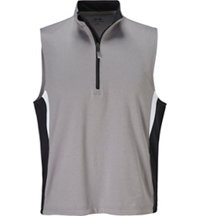 Men's Melange Color Block Vest