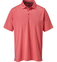 Men's Tonal Stripe Short Sleeve Polo