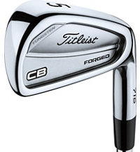 716 CB 3-PW Iron Set with Steel Shaft