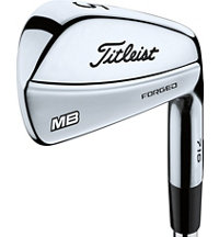 716 MB 3-PW Iron Set with Steel Shaft