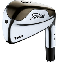 716 T-MB Individual Iron with Steel Shaft