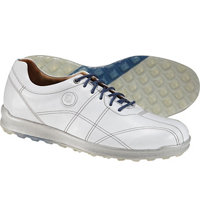 Men's Versaluxe Spikeless Golf Shoes - Off White (FJ# 57250)