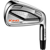 King Forged Tec 4-PW, GW Iron Set with Steel Shafts