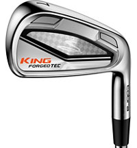 King Cobra Tec 4-PW, GW Iron Set with Steel Shafts
