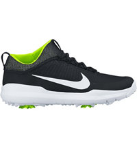 Men's Nike FI Premiere Spiked Golf Shoes - Black/White/Volt