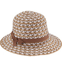 Women's Coco Mixed Straw Sun Hat