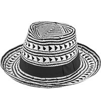 Women's Ale Solana Tribal Panama Straw Hat