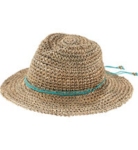 Women's Ale Trancoso Seagrass Bead Trim Hat