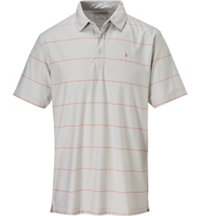 Men's Innosoft Stripe Short Sleeve Polo
