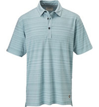 Men's Tribal Print Short Sleeve Polo