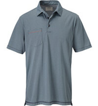 Men's Innosoft Stripe Pocket Short Sleeve Polo