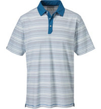Men's Innosoft Contast Stripe Short Sleeve Polo
