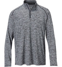 Men's Essential Tech Quarter-Zip Long Sleeve Jacket