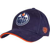 Men's Raised Replica Edmonton Oilers Cap