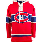 Men's Lacer Montreal Canadiens Fleece Pullover