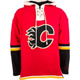 Men's Lacer Calgary Flames Fleece Pullover