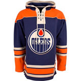 Men's Lacer Edmonton Oilers Fleece Pullover