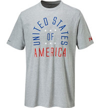 Men's USA Triblend Short Sleeve T-Shirt