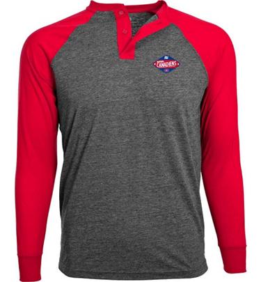 Men 39 S Mechanic Montreal Canadiens Long Sleeve T Shirt