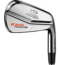 King LTD Pro MB/CB Chrome 3-PW Iron Set with Steel Shafts