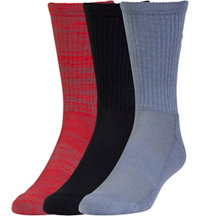 Men's UA Twist 3-Pack Crew Socks