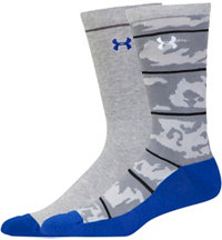 Men's UA Armour Style Camo 2-Pack Crew Socks