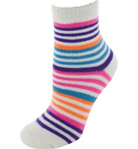 Women's Fireside Quarter Muti-Stripe Socks