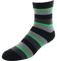 Men's Fireside Quarter Stripe Socks