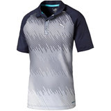 Men's Brushstroke Short Sleeve Polo