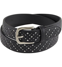 Women's Perf Pattern Underlay Belt
